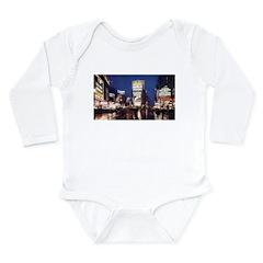 Classic New York City Long Sleeve Infant Bodysuit