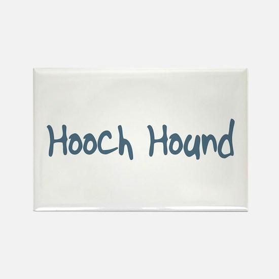 Hooch Hound Rectangle Magnet
