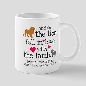 Lion & Lamb Mug