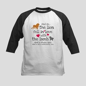 Lion & Lamb Kids Baseball Jersey