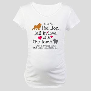 Lion & Lamb Maternity T-Shirt