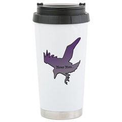 CROW - NEVER MORE... Stainless Steel Travel Mug