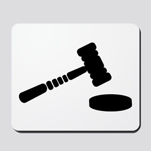 Judge hammer Mousepad