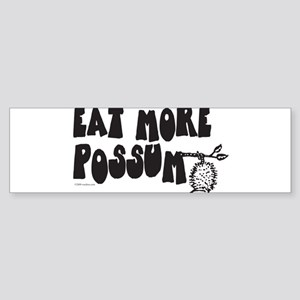 Eat More Possum Sticker (Bumper)