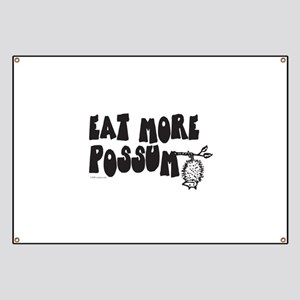 Eat More Possum Banner