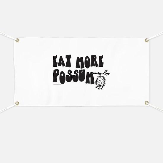 Eat More Possum Banner