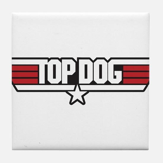 Top Dog Tile Coaster
