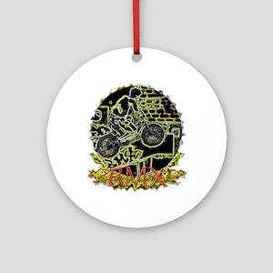 BMX Ornament (Round)