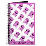 pink skull Journal