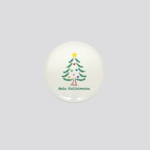 Mele Kalikimaka Mini Button