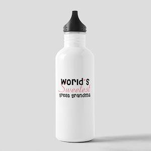 World's sweetest great grandm Stainless Water Bott