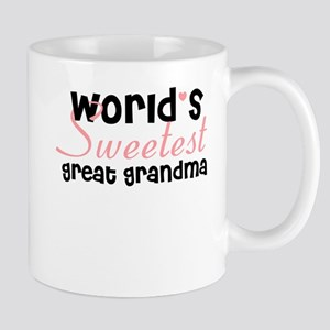 World's sweetest great grandm Mug