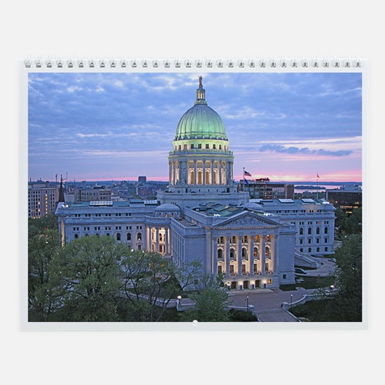 Funny Oklahoma home office decor Wall Calendar