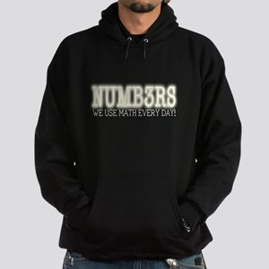Numb3rs We Use Math Every Day Hoodie (dark)