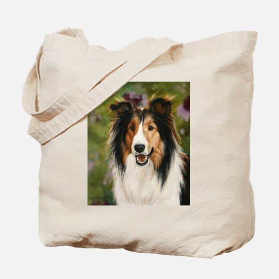 Shetland Sheepdog by Dawn Sec Tote Bag