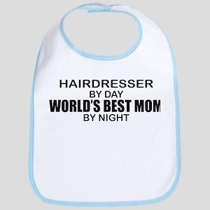 World's Best Mom - HAIRDRESSER Bib