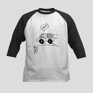 What? Drive Off A Cliff! Kids Baseball Jersey