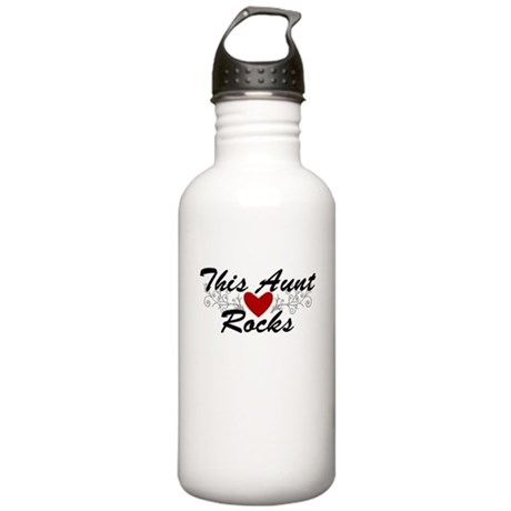 This Aunt Rocks Stainless Water Bottle 1.0L