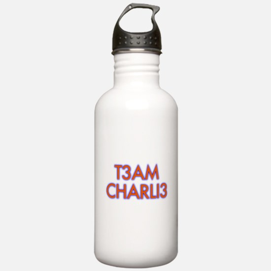 T3am Charli3 Numb3rs Charlie Water Bottle