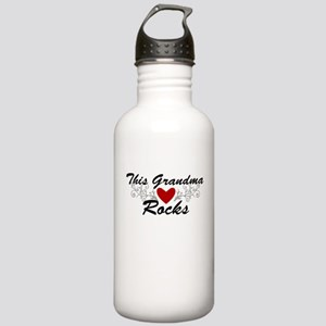This Grandma Rocks Stainless Water Bottle 1.0L
