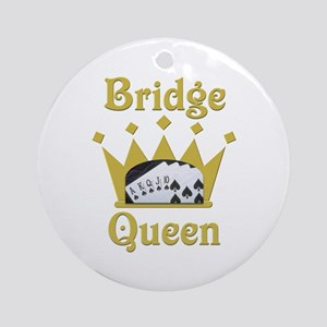 Bridge Queen Ornament (Round)