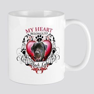My Heart Belongs to a Black Lab Mug