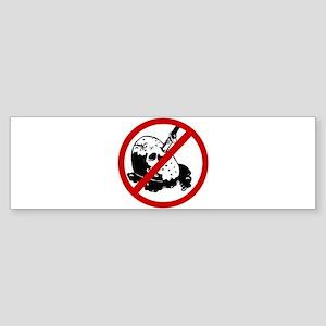 Anti Murders Sticker (Bumper)