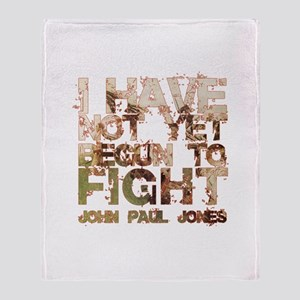 John Paul Jones Throw Blanket