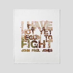 John Paul Jones Throw Blanket