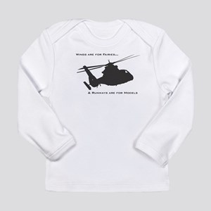 Wings are for fairies Long Sleeve T-Shirt