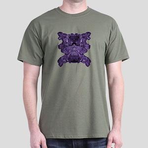Purple Skull Dark T-Shirt
