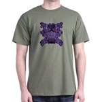 Purple Skull Dark T-Shirt