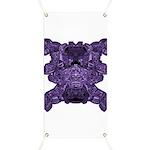 Purple Skull Banner