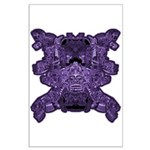 Purple Skull Large Poster