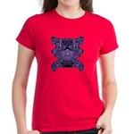 Purple Skull Women's Dark T-Shirt