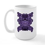Purple Skull Large Mug