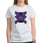 Purple Skull Women's T-Shirt