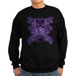 Purple Skull Sweatshirt (dark)