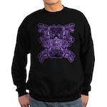 Purple Skull Sweatshirt (dark)