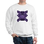 Purple Skull Sweatshirt
