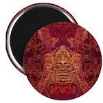 Purple Skull Magnet