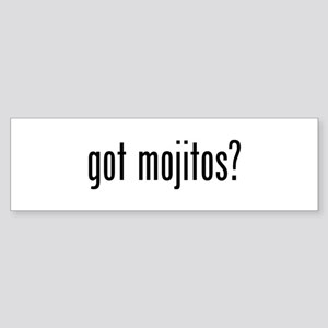 Got Mojitos Sticker (Bumper)