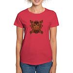 Purple Skull Women's Dark T-Shirt