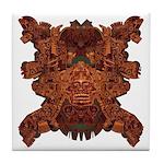 Purple Skull Tile Coaster