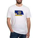 ILY Nebraska Fitted T-Shirt