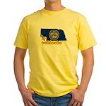 ILY Nebraska Yellow T-Shirt