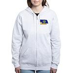 ILY Nebraska Women's Zip Hoodie