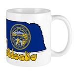 ILY Nebraska Mug