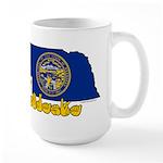 ILY Nebraska Large Mug