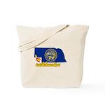 ILY Nebraska Tote Bag